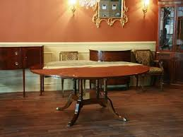 expandable round dining room table amazing expandable round
