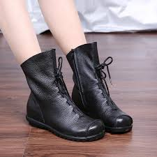 s boots calf size aliexpress com buy plush size 35 42 pleated autumn winter