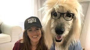 woman and dog win halloween with u0027wayne u0027s world u0027 costume today com
