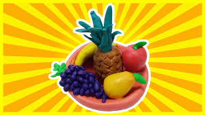 how to make a fruit basket fruit basket with playdoh