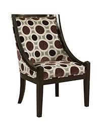 High Back Accent Chair Powell Mulberry And Grey High Back Accent Chair 20 1