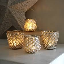 silver tealight holders by lilly notonthehighstreet