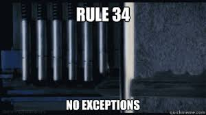 Rule 34 Memes - rule 34 no exceptions key rule 34 quickmeme