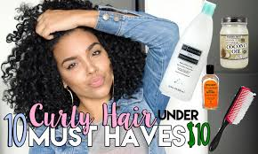 must have hair 10 curly hair must haves under 10 youtube