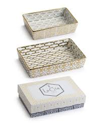 la cite nesting catchall trays s 2 tableware and home decor