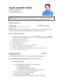 Resume Example For Call Center by Resume Sample For Call Center Fresher Templates