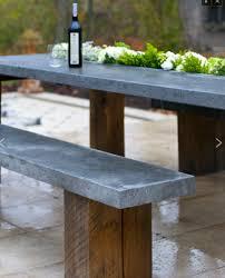 Concrete Planter Boxes by Great Design Pre Cast Concrete Bench And Table A Planter Box In