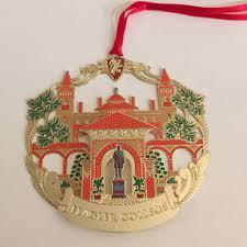 gold finished flagler college ornament flagler s legacy