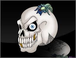 learn how to draw a halloween skull halloween seasonal free