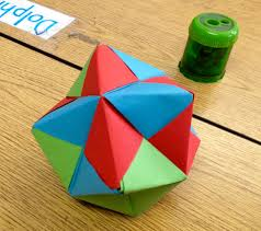 thanksgiving geometry activities teaching math with modular origami scholastic