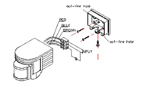 motion sensor light wiring diagram wiring diagram and schematic