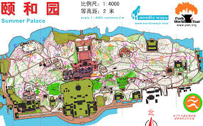 Beijing China Map by 27 Pwt Sprint Summer Palace Beijing China
