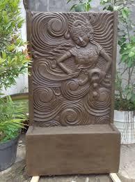 fontaine murale en zinc fontaine murale jardin u0026 bricolage