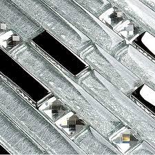 glass mosaic tiles interlocking tile sheets metal coating tile yg001