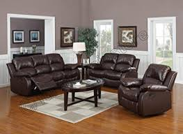Reclining Leather Sofas Uk Valencia Brown Recliner Leather Sofa Suite 3 2 Seater Brand New 12