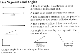 lines rays and line segments worksheets phase iii