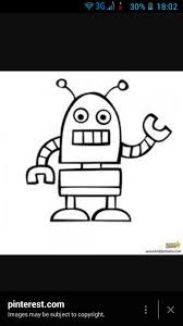 4 ways draw robot wikihow
