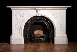 marble fireplace binhminh decoration