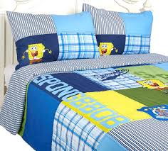 Spongebob Bedding Sets Nickelodeon Spongebob Quilt Set 3 Pieces