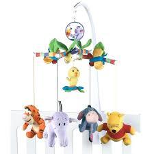 pooh musical mobile crib parts nursery decor u2013 carum