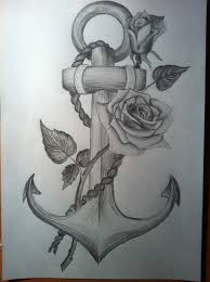 anchor with a lapse drawing