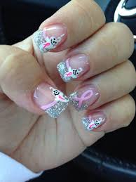 174 best awareness nail art images on pinterest breast cancer