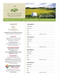 Charity Letter For Raffle Prizes tee off for teens golf tournament homeless youth connection