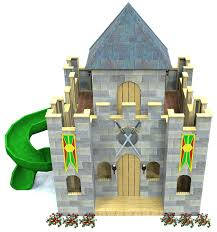 castle plans enchanted castle playhouse plan 280ft wood plan for kids