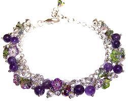 bead flower bracelet images Magic orchid bracelet beaded jewelry making kit jpg