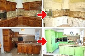comment repeindre sa cuisine en bois peinture meubles de cuisine rsinence comment repeindre une en bois