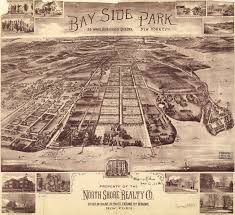 Queens Ny Map Birdseye View Of Bay Side Park Queens Nyc 1916