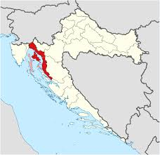 Map Of Italy And Croatia by Croatian Littoral Wikipedia