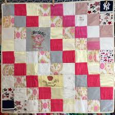 memory clothes small memory clothes quilt 36x36 diagonal pattern the patchwork