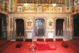 Home Design Rajasthani Style Inside The Painted Havelis Of Shekhawati In Rajasthan Cn