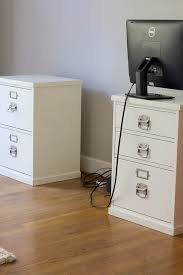 desk made with file cabinets savvy apron