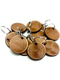 wooden key chain custom wooden keychain woodener shop