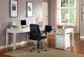 White L Shaped Desk Corner Computer Desk White Eatsafe Co