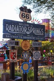 25 best radiator springs and ornament valley images on