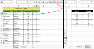 Exles Of Sheets by Excel Vlookup Guide With 8 Exles