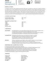 Salon Assistant Job Description Resume by Medical Receptionist Job Description Resume For Receptionist Job