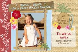tropical christmas cards photo holiday cards
