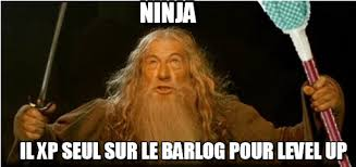 ninja gandalf meme on memegen