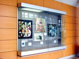 trophy display cabinets wall mounted display cases for schools wall mounts