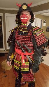 samurai halloween costume 3d printed samurai armor build album on imgur
