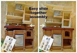 Step Two Play Kitchen by Step 2 Lifestyle Deluxe Kitchen Instructions Kitchen Cabinets