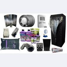 kit chambre culture kit 1er prix hps terre 150w 60x60x140 base culture indoor