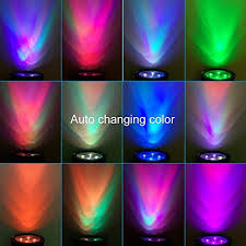 falove changing color solar powered led outdoor spotlight