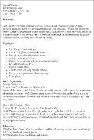 restaurant resume template restaurant bar resume templates to impress any employer livecareer