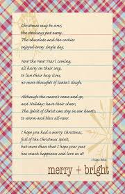 from blank pages an after christmas christmas poem