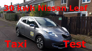 nissan leaf long term review 30kwh nissan leaf taxi test youtube